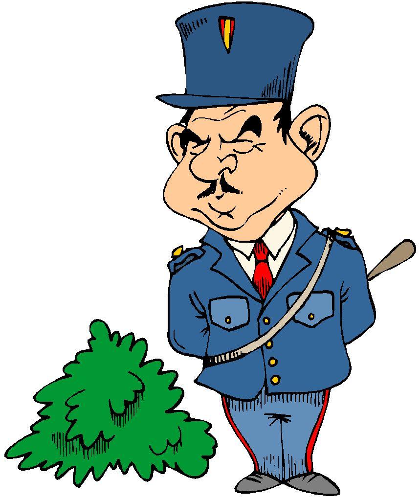 Pin dessin gendarme on pinterest - Gendarme dessin ...